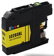 BROTHER  LC203XL Y LC203 XL YELLOW GENERIC For MFC-J4620DW MFC-J5520DW MFC-J5620DW MFC-J57