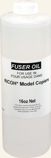 54209550 RICOH - Fuser Oil BOTTLE - MOST RICOH MODELS COMPATIBLE BRAND