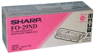 FO29ND SHARP OEM GENUINE TONER FOR 2900 2950 2970 3150 3800M PRINTERS