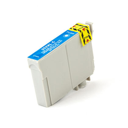 Epson 252XL T252XL220 Compatible CYAN Cartridge High Yield WF-3620 WF-3640 WF-7110 WF-7610 76